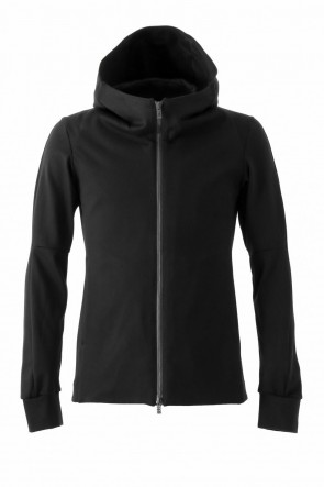 Hooded Jacket Cotton Jersey