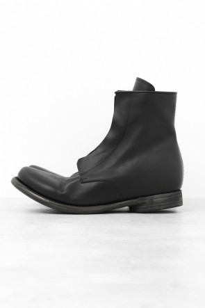 DEVOA 15-16AW Side Zip Boots Calf Leather