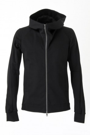 Hooded Jacket Mercerization Jersey