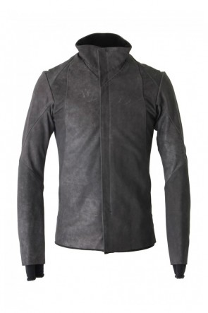 DEVOA 17-18AW High Neck Jacket Calf Leather
