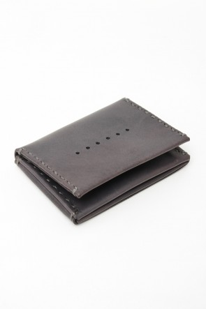 DEVOA 15-16AW Guidi Calf Leather Pass Case