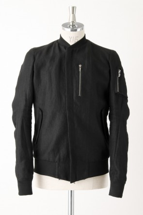 DEVOA 16SS Ramie Flight Jacket