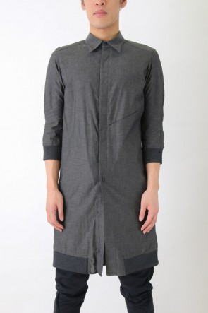Cotton High Density Long Shirt