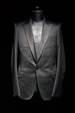 GalaabenD16-17AW16AW Tuxedo Cloth Stretch 1B Tailored Jacket