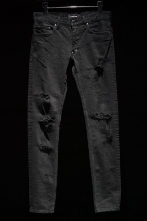 DIET BUTCHER SLIM SKIN 16-17AW 16AW Damage Process Skinny Pants