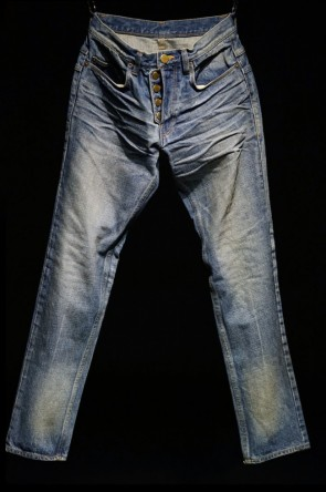 16AW STANDARD : R 001 DISTESSED DENIM