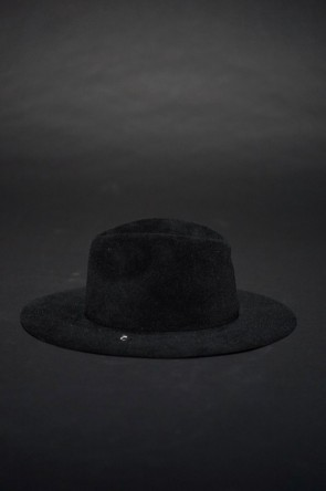 DIET BUTCHER SLIM SKIN 16-17AW 16AW RABBIT FUR WIDE BRIM HAT BLACK
