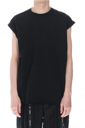 DUELLUM 21SS French Sleeve T-shirts Black