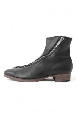 "16AW ""SPLIT"" Front spiral zip boots"