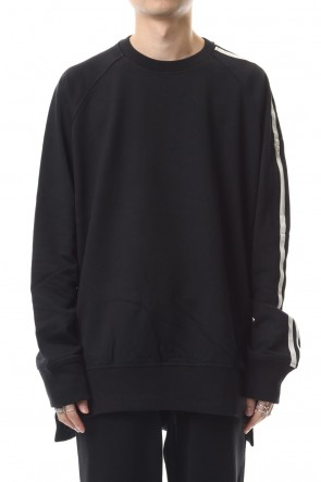 Y-3 19-20AW 3 STP French terry Crew Sweater