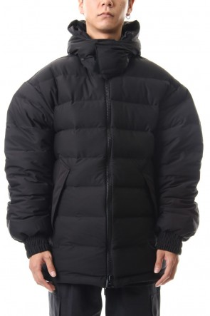 Y-3 19-20AW Seamless down Hooded jacket