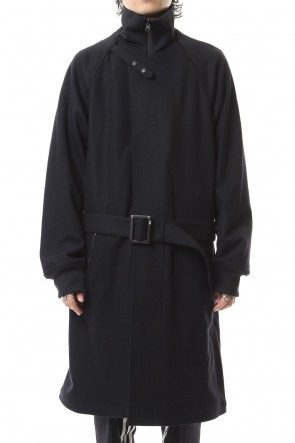 Y-3 19-20AW 3 STP Reversible Layered Track coat
