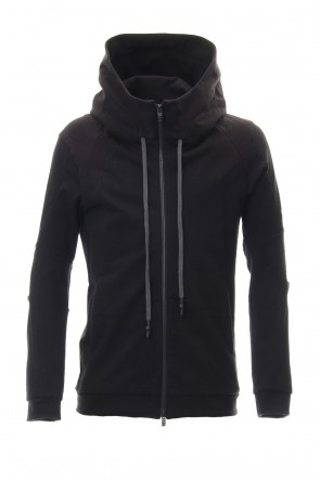 DEVOA 19SS Hooded Jacket Cotton Jersey - Charcoal