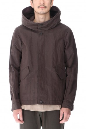 DEVOA 21SS Hooded jacket lightweight highdensity Co/Pe