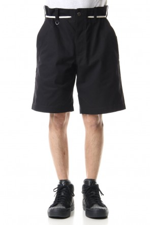 Y-3 20SS CANVAS WORKWEAR SHORTS