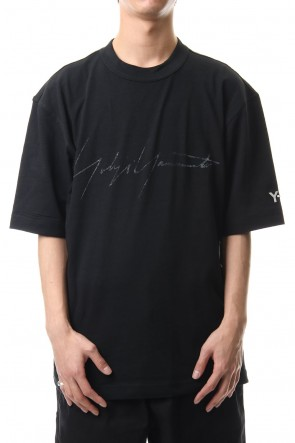 Y-320SSDISTRESSED SIGNATURE SS TEE