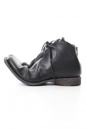 DEVOA 19-20AW Guidi Calf Back Zip Ankle Boots
