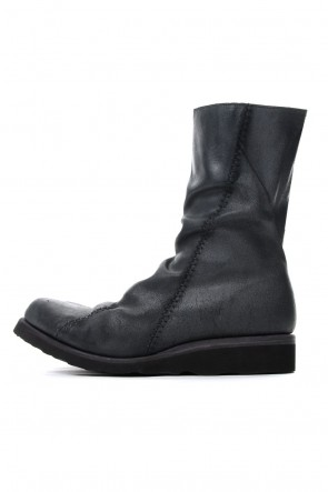 DEVOA 18-19AW Long Boots Reverse Calf Leather (GUIDI)