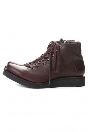 DEVOA 20SS Monkey boots Horse leather - Bordeaux