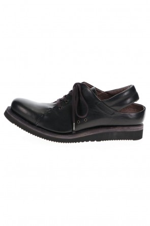 DEVOA 21SS Shoes Horse leather Black