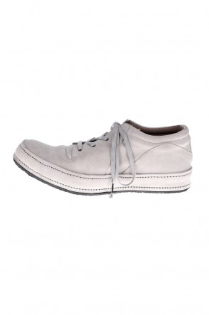 DEVOA 21SS Shoes Kudu leather White Gray