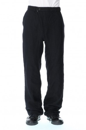 GARMENT REPRODUCTION OF WORKERS20-21AWWool Linen Grandpa's Trousers