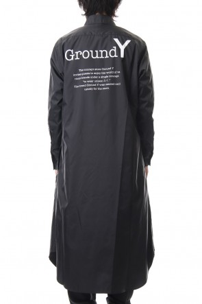 Ground Y 19-20AW Logo shirt dress