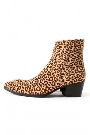 GalaabenD 15-16AW GalaabenD 15AW BASIC Leopard Unborn Calf Leather