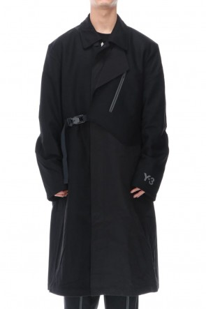 Y-3 20-21AW CH1 WOOL FLANNEL COAT