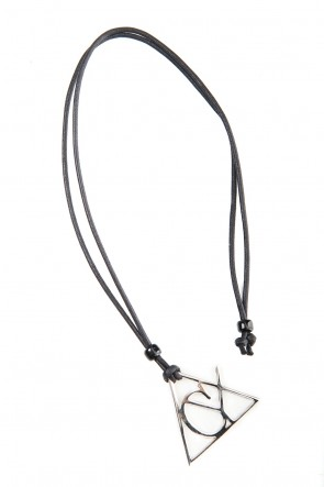 Ground Y 20SS Triangle necklace Silver