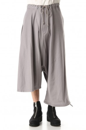 Ground Y 20SS Asymmetry Balloon Pants Gray