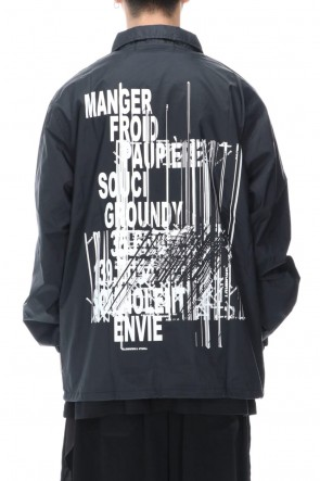 Ground Y 20-21AW Logo B coach jacket