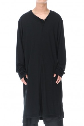 Ground Y 20-21AW Double collar long Cut Sew