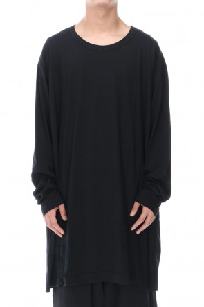 Ground Y 20-21AW Jumbo cut-sew long Black