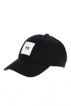 Y-3 21SS Y-3 SQUARE LABEL CAP