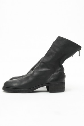 Guidi Classic Back Zip Boots Double Sole - Soft Carf Full Grain Leather
