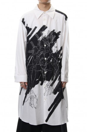 Ground Y 18-19AW EVA Awakening Unit 2 Jumbo Shirt