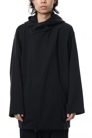 Ground Y 18-19AW Double Hoodie - Black