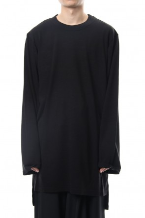 Ground Y 18-19AW Asymmetric Long Sleeve Cut Sew