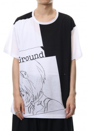 Ground Y 18-19AW EVA Ayanami graphic T