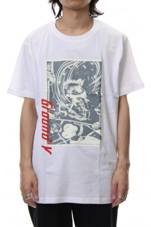 Ground Y 18-19AW Craft Print Kamen Rider ver.3 S/S TEE