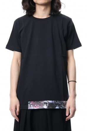 Ground Y 18SS Ground Y ☓ Nicolai Bergmann Tape Design Short Sleeve