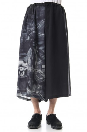 Ground Y19SSDrape gaucho pants - INNOCENCE Poetry & Android PT