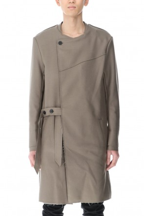 ASKyy 21SS Belted Coat Greysh Beige