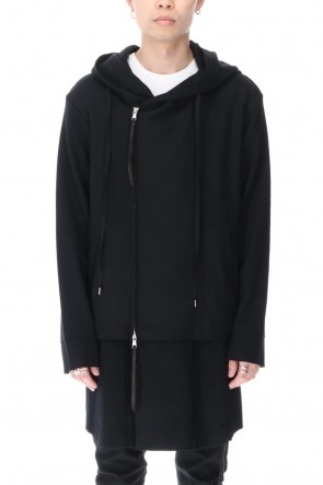 ASKyy 20-21AW Layered Hoodie Coat