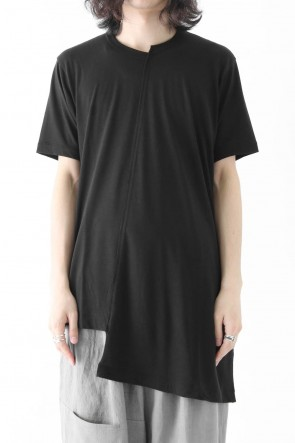 Oblique Panel Short Sleeve
