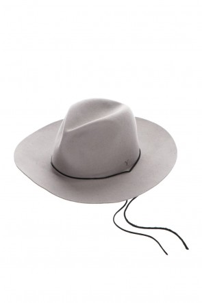 ASKyy 20-21AW Long Brim Hat Ash Gray