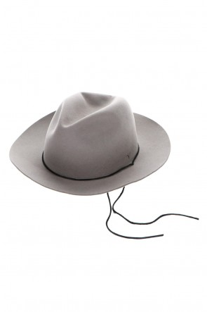 ASKyy 20-21AW Short Brim Hat Ash Gray