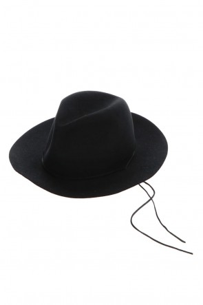 ASKyy 20-21AW Short Brim Hat Black