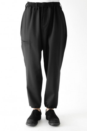 Stretch Twill Easy Drawstring Pants